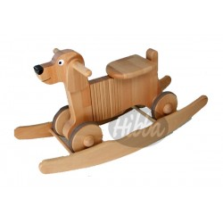 Rocker & Ride On Wooden Dog