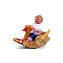 Wooden Rocking Duck