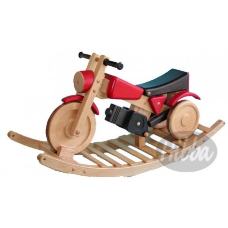 Free Rider Rock & Ride on Wooden Trike