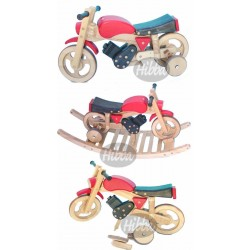 Sprinter Combi Trainer Rock & Ride Wooden Bike