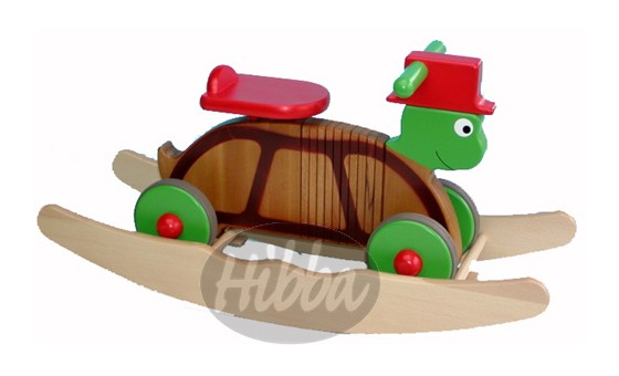 Rocker & Ride on Colourful Turtle